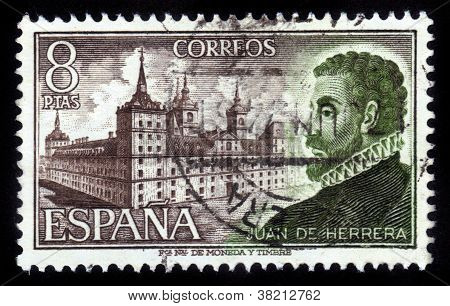 Portrait Of Spanish Architect And Scholar Juan De Herrera