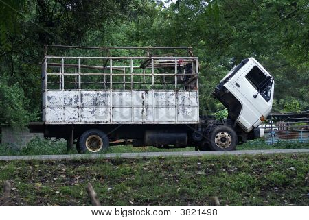 Broke Down Truck In A Third World Country