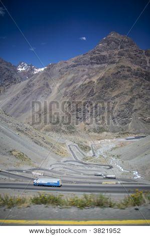 Winding Road - Santiago To Mendoza