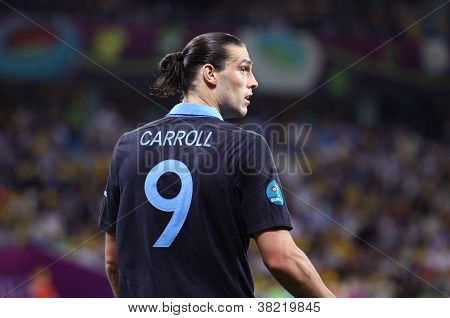 Andy Carroll Of England