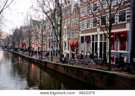 Red Light District - Amsterdam