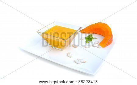Jar Of Pumpkin Velvety