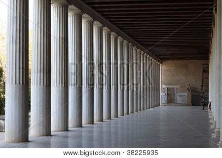 Interior Stoa Of Attalos