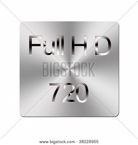 Metal Full Hd Button