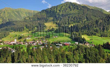 Riezlern,Kleinwalsertal,Austria