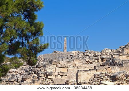 Ancient Aegina in Greece