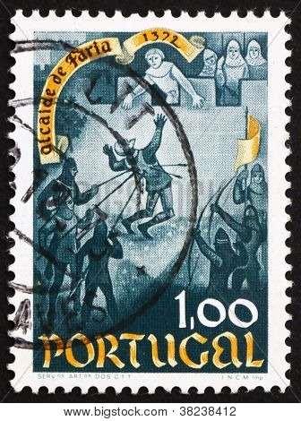 Postage stamp Portugal 1972 Death of Nuno Gonzalves