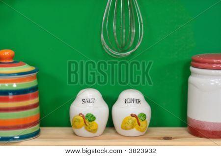 Handmade Salt And Pepper Shakers