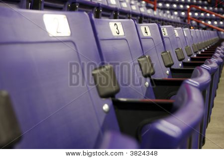 Row Of Arena Seats