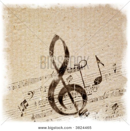 alten Stil Musik Hintergrund