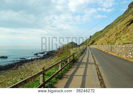 Coastal road, Northern Ireland