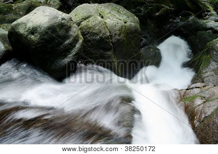 Torrent flowing down