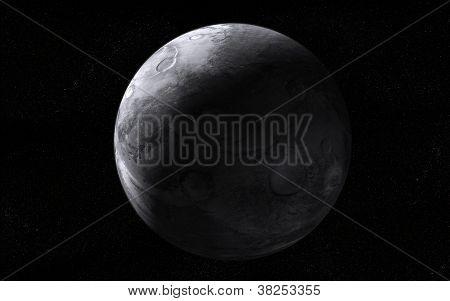Extraterrestrial moon