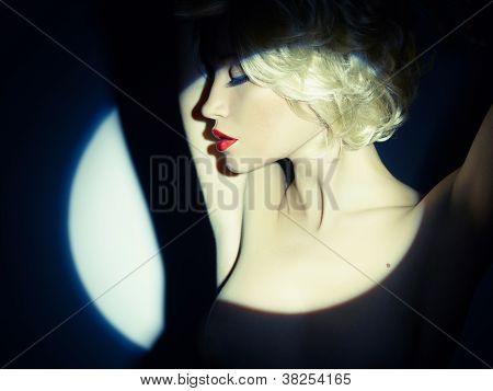 Lady In The Spotlight