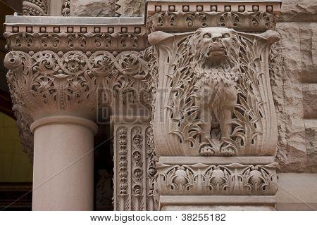 gargoyle at torontos old city hall
