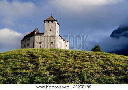 Castle in Balzers, Lichtenstein