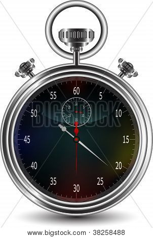 vector design of stopwatch