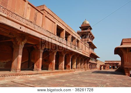 Fatehpur Sikri In Agra, India