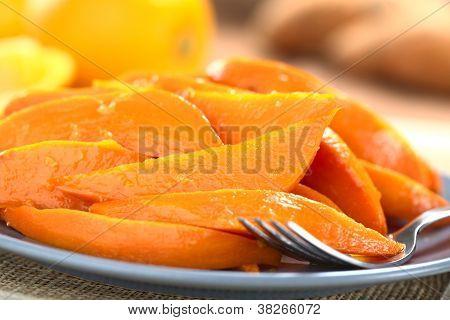Caramelized Sweet Potato Wedges