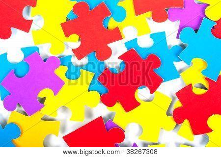 Children's cardboard puzzles