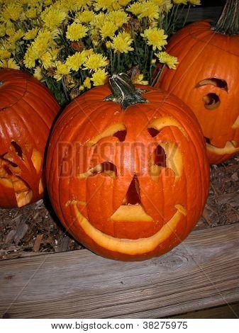Harvest Pumpkin - Jack-O-Lantern