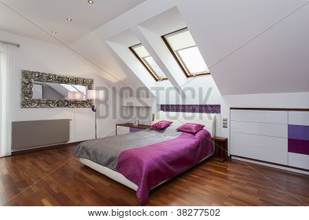 Bedroom In The Attic