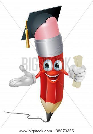 Pencil Graduate Education Concept
