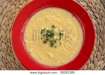 Cream Of Celeriac Soup