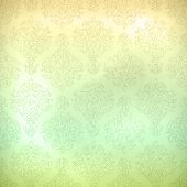 picture of brocade  - Grunge retro seamless pattern for wallpaper background in shades of subtle pastel colors - JPG