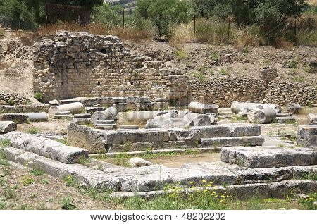 Apollon Temple of Gortyn on Crete