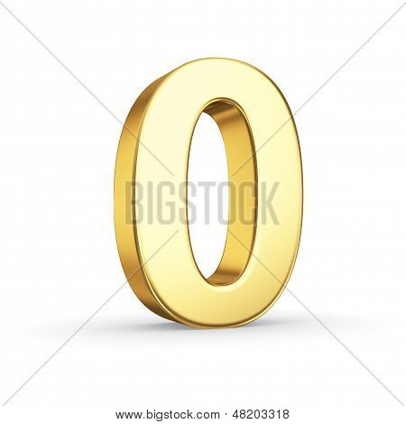 3D golden number 0