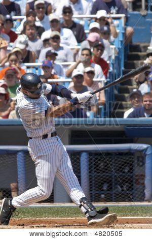 Derek Jeter Hitting