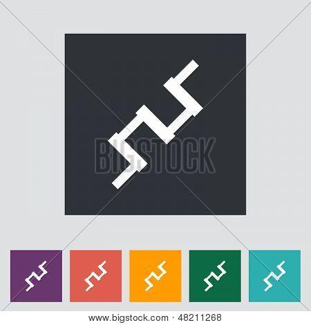Crankshaft Single Icon.