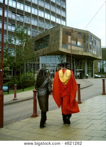 2004 Bradford University Graduation Ceromony.