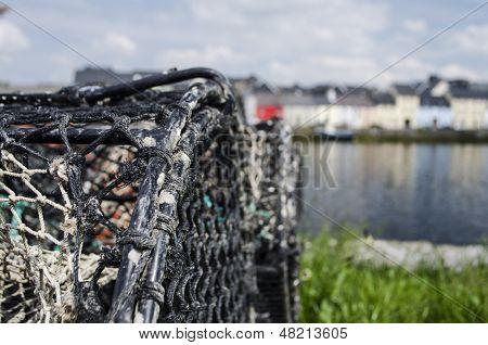 lobster pots in Ireland