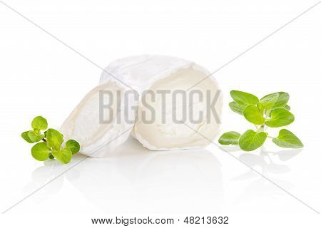 Goat Cheese With Herbs.