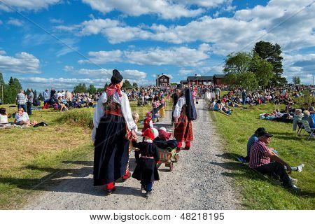 Swedish folk music festival