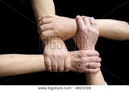 Hands Joined In Union