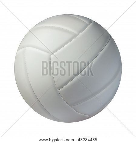 Volleyball Isolated