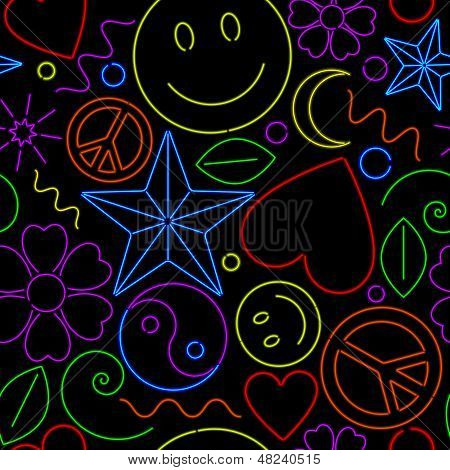 Seamless Neon Pattern