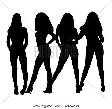 Prostitutes Silhouettes