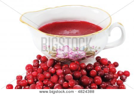 Cranberries And Sauce