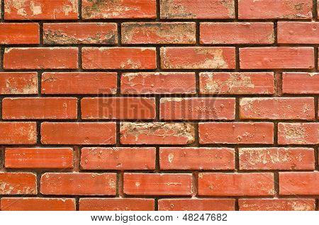 Grunge-Mauer.