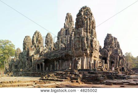Bayon Temple Panorama