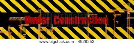 Under Construction 3D Render