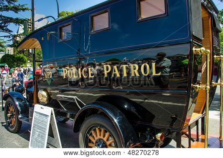 Antique Police Patrol Paddy Wagon