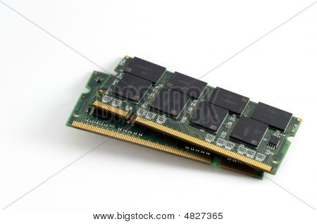 Two Computer Ram Memories