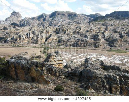 Arid Landscape In Madagascar