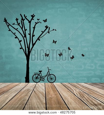 Vector Decorative Wall Stickers For Your House�s Interiors. (easy to make your own wall stickers)