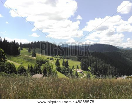 Landscape of the central Rhodopes.